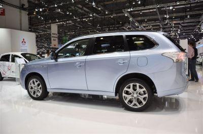 Mitsubishi Plug-In Hybrid EV