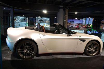 L'Alfa Romeo 4C au MotorVillage