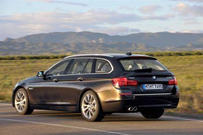 BMW Série 5 restylée