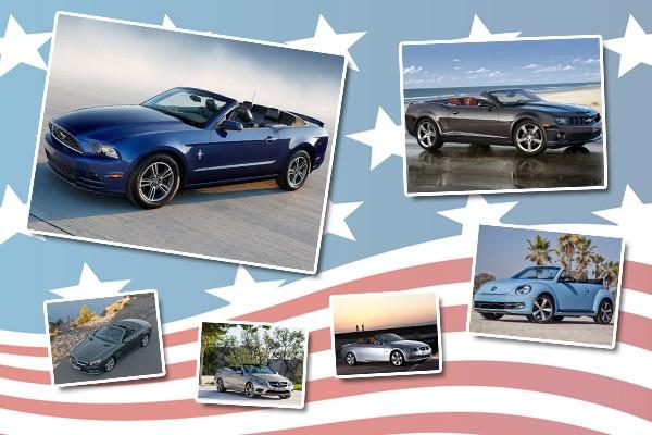 Les 10 cabriolets stars aux USA