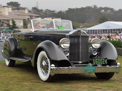 Packard 1108 Twelve Victoria by Dietrich cabriolet (1934)