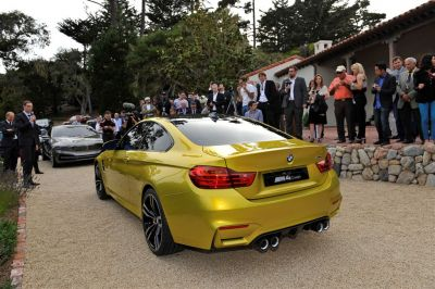 BMW M4 à Pebble Beach