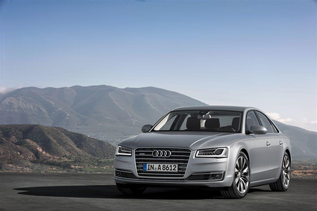 Audi A8 gamme 2014