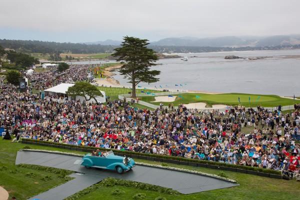 Concours d'Élégance de Pebble Beach 2013