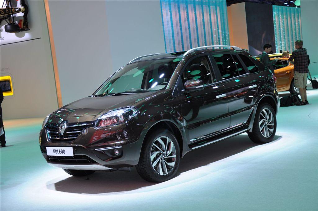 Renault Koléos restylé