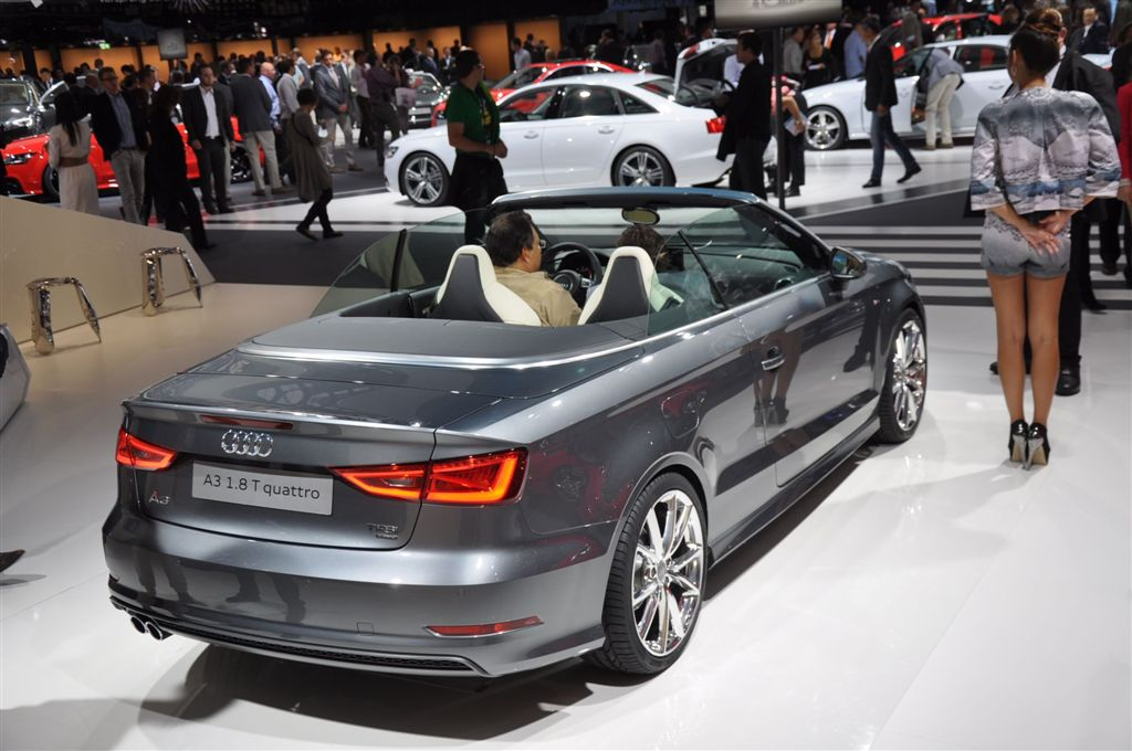 L'Audi A3 Cabriolet en détails
