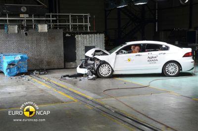 Qoros 3 berline - Crash-test (2013)