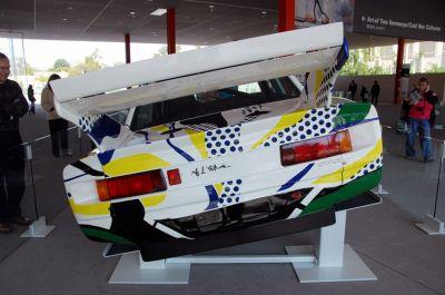 BMW Art Car Roy Lichtenstein