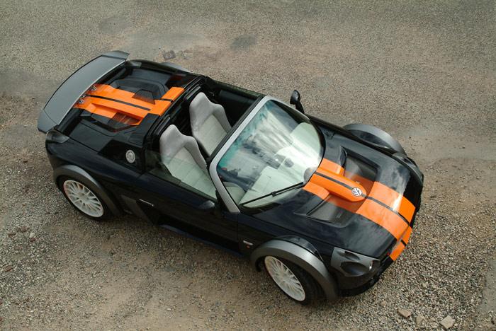 Concept Car Orange Sequana