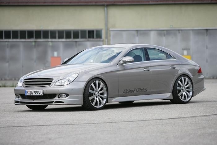 Mercedes CLS Alpine