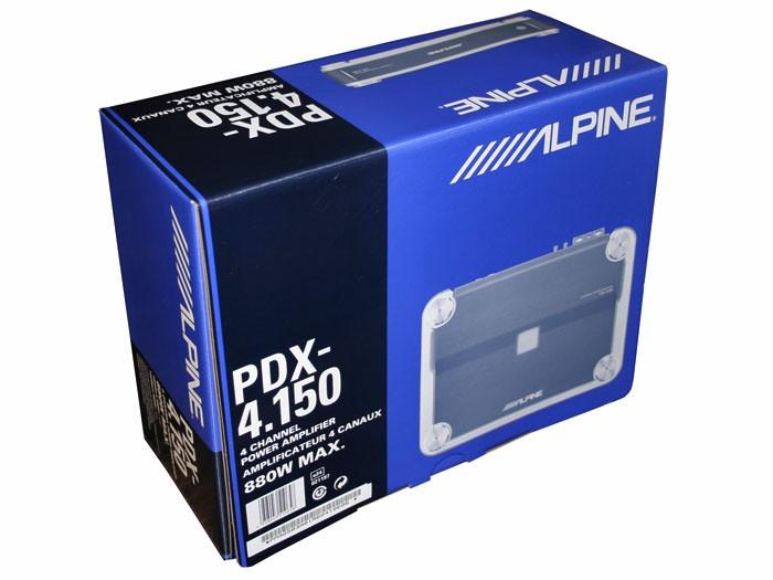 Alpine PDX 4.150