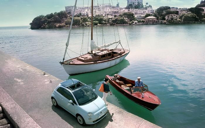 Fiat 500 Microsoft Blue&Me