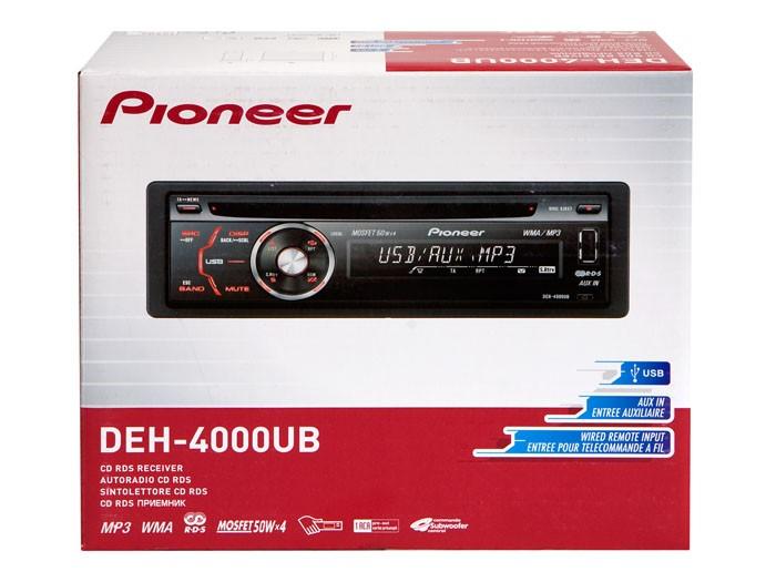 Pioneer DEH-4000UB