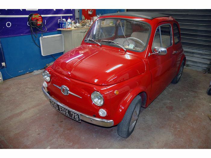 Fiat 500 Harman PTS 2008