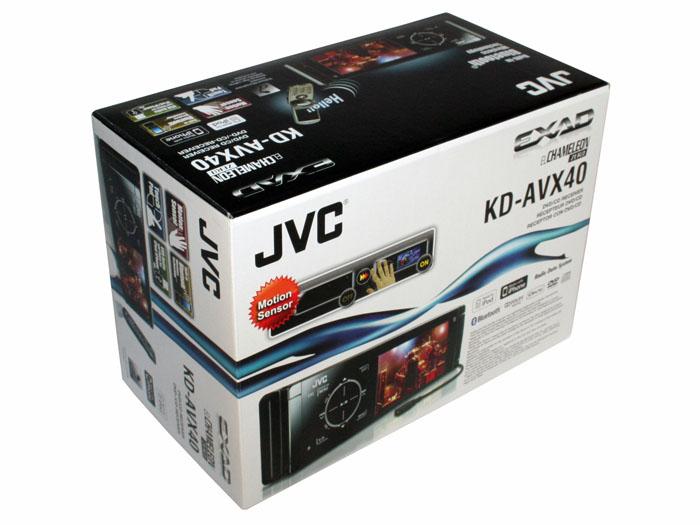 JVC KD-AVX40