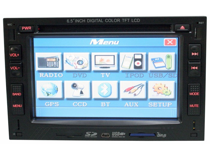 Hype Multimedia Systems HW745GPS
