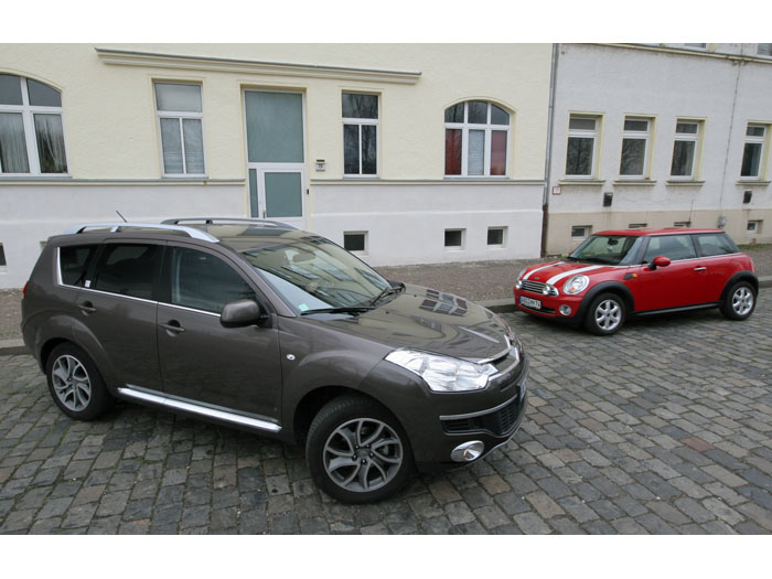 Citroën C-Crosser Exclusive HDI 160 FAP DSC
