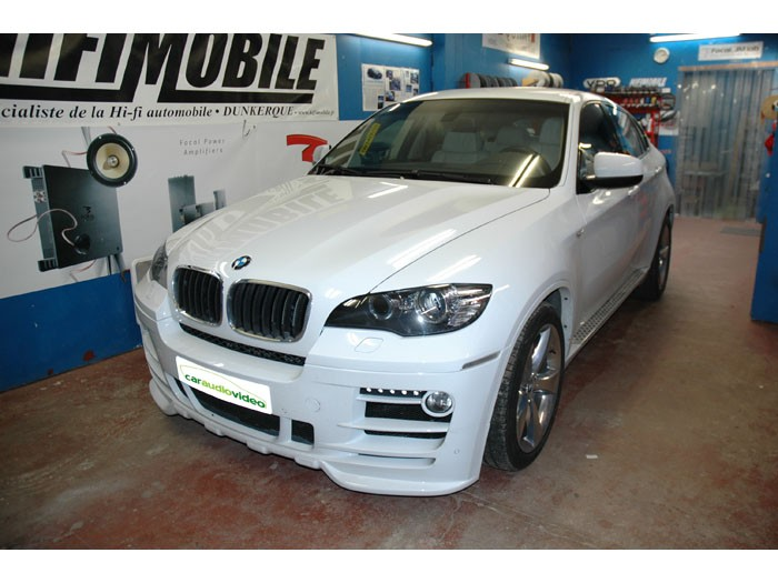BMW X6 Hifimobile