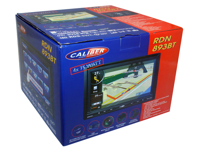 Caliber RDN893BT