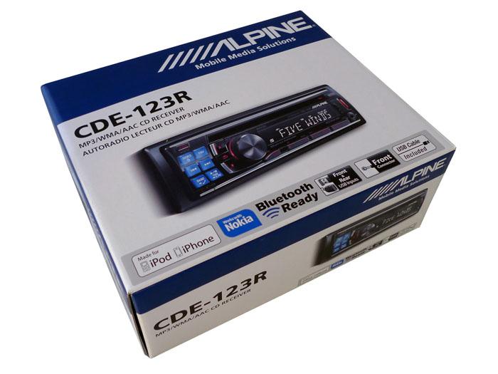 Alpine CDE-123R
