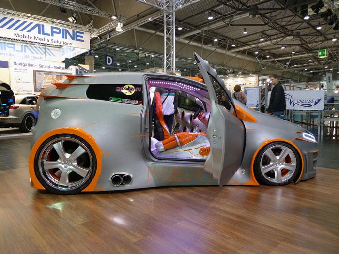 Show car Hertz Fiat Grande Punto