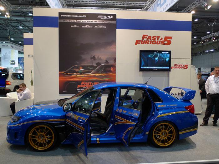 Subaru Impreza Alpine 2011