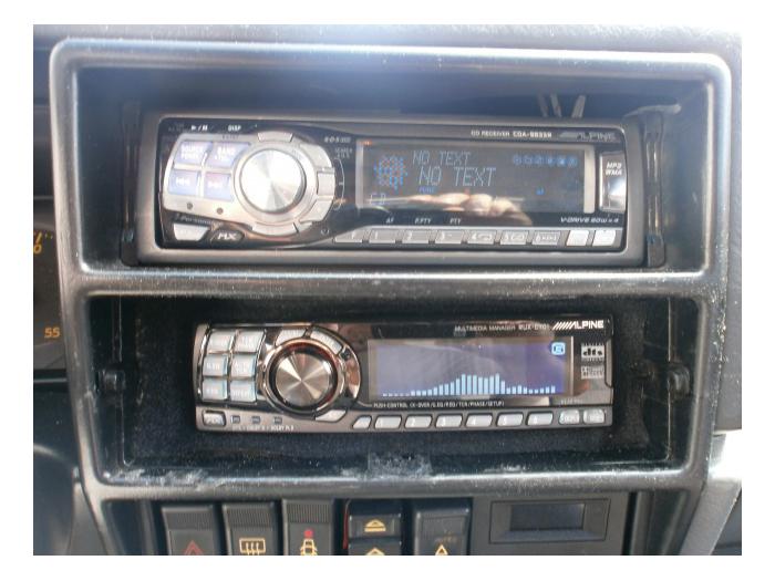Installation 01 Renault 19