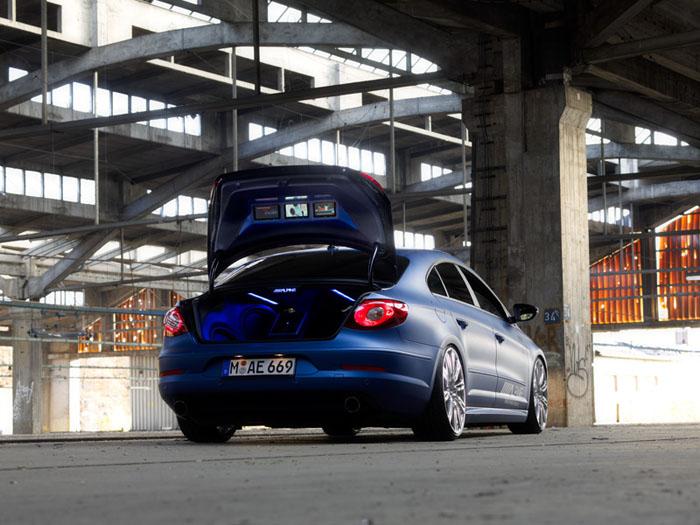 VW Passat CC Alpine