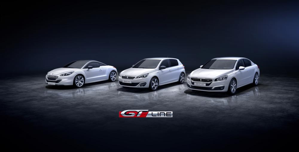 Peugeot GT Line 2014 (officiel)
