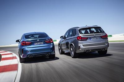 BMW X5M et X6M (2015)