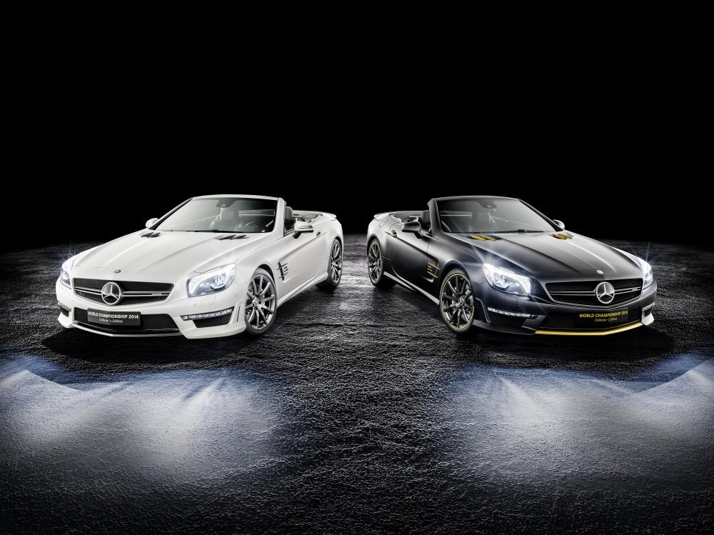 "Mercedes S63 AMG ""World Championship 2014 Collector's Edition"""