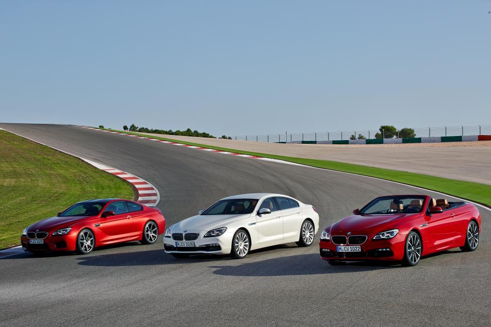 BMW Série 6 restylage 2014 (officiel)