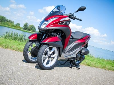 Essai Yamaha Tricity 125