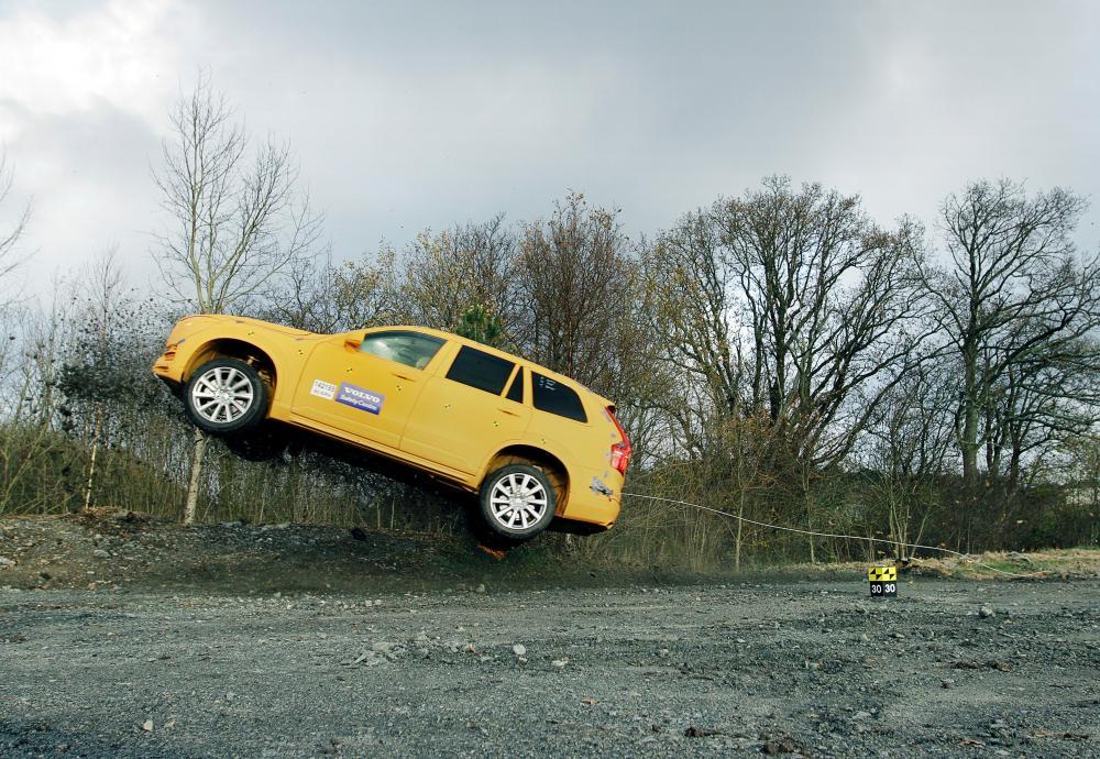 Volvo et les sorties de route (2014)