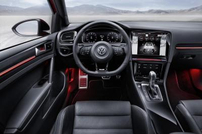 Volkswagen Golf R Touch Concept (CES 2015)