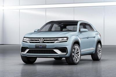 Volkswagen Concept Cross Coupé GTE (Detroit 2015)