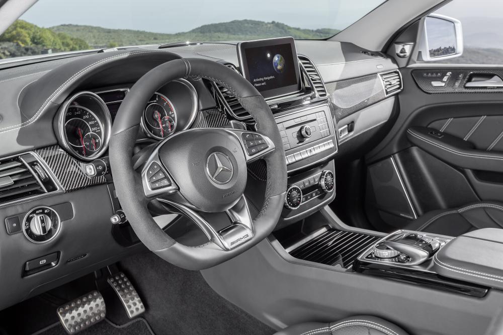 Mercedes GLE 63 AMG S Coupé (Detroit 2015)