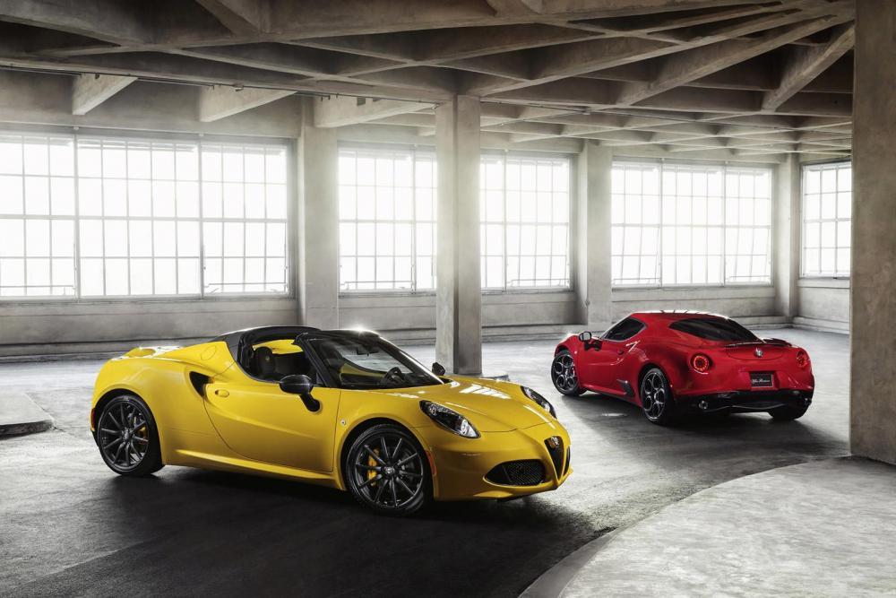 Alfa Romeo 4C Spider 2015 (officiel)