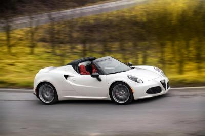 Alfa Romeo 4C Spider 2015 (officiel)