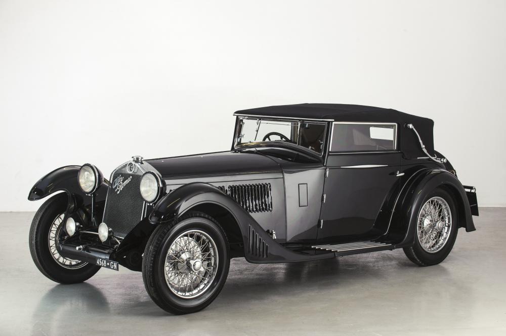 Alfa Romeo 6c 1750 Supercharged Gran Sport (1930)