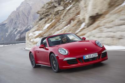 Porsche 911 Targa 4 GTS (Detroit 2015)