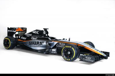 Force India Mercedes VJM08