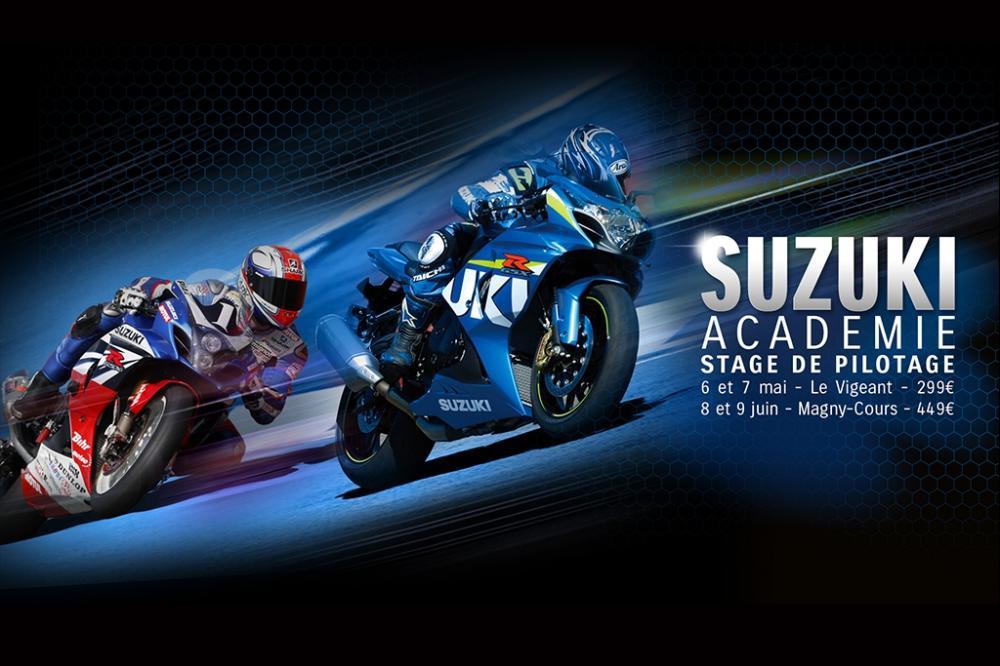 Suzuki Académie : c'est reparti !