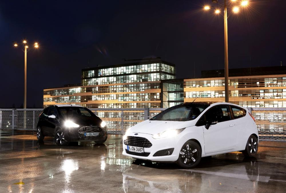 Ford Fiesta et Ka Black & White 2015 (officiel)