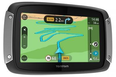 TomTom Rider 400 : nouveau GPS moto haut de gamme pour 2015