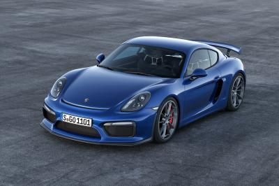Porsche Cayman GT4 2015 (officiel)
