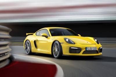 Porsche Cayman GT4 2015 (officiel)