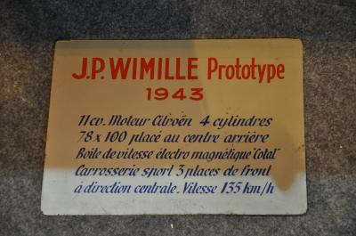 Le prototype Wimille