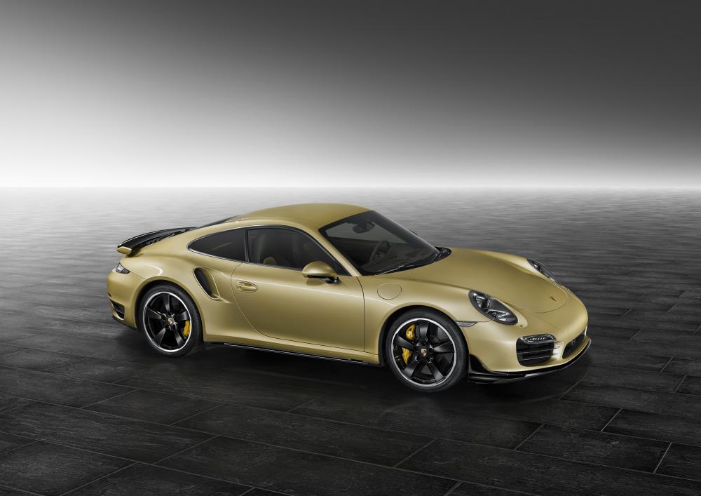 Porsche 911 Turbo Aerokit 2015 (officiel)