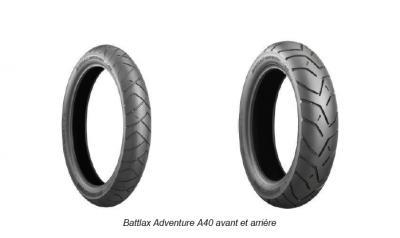 Nouveautés Bridgestone 2015 : T30 Evo, RS 10 et Adventure A40